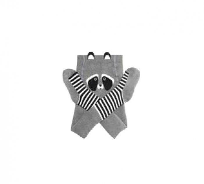 Колготки Махровые DUNA 4908р 68-74,44, 10-12 2500 Серые (490801) - изображение 1