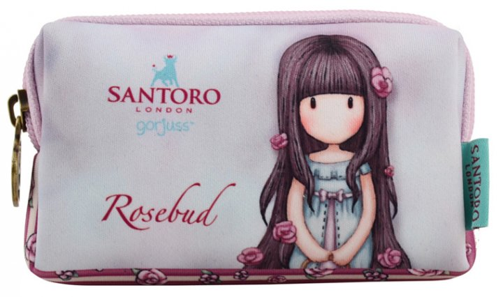 Кошелек Yes Santoro Rosebud W-01 неопреновый без наполнения (532677) (5056137121021) - изображение 1