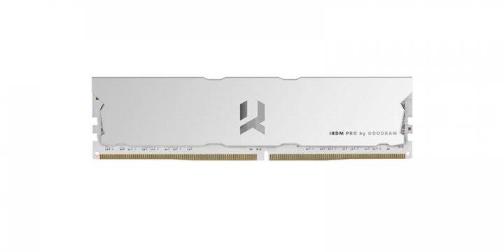 Модуль пам'яті DDR4 8GB/4000 Goodram Iridium Pro Hollow White (IRP-W4000D4V64L18S/8G) - зображення 1