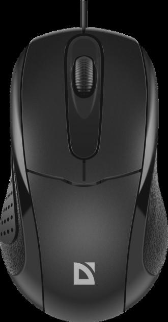 Миша Defender Standard MB-580 USB Black (52580) - зображення 1