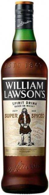 Виски WIlliam Lawson's Super Spiced 3 года выдержки 0.7 л 35% (5019752001281) - изображение 1