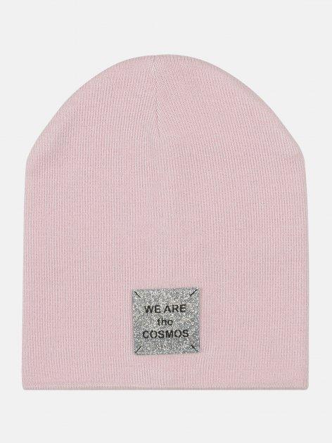Демисезонная шапка Elf-kids Джади 54-56 см Розовая (ROZ6400046115) - изображение 1