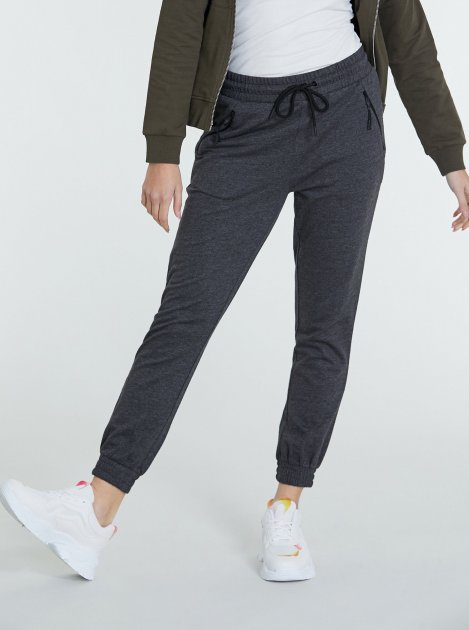 Спортивні штани Piazza Italia 38487-58054 M Dark.Grey (2038487003045) - зображення 1