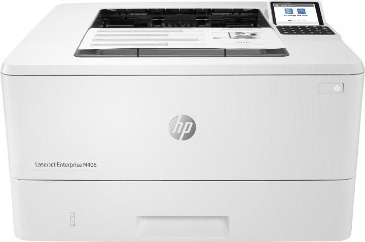 HP LaserJet Enterprise M406dn (3PZ15A) - зображення 1
