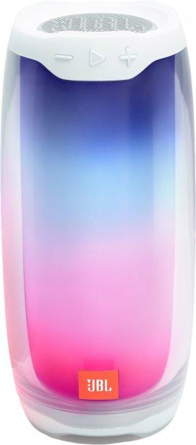 Акустична система портативна колонка JBL Pulse 4 White (JBLPULSE4WHT) - зображення 1