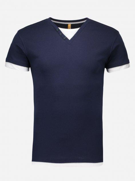 Футболка Piazza Italia 78218-62 S Blue (2078218001032) - зображення 1
