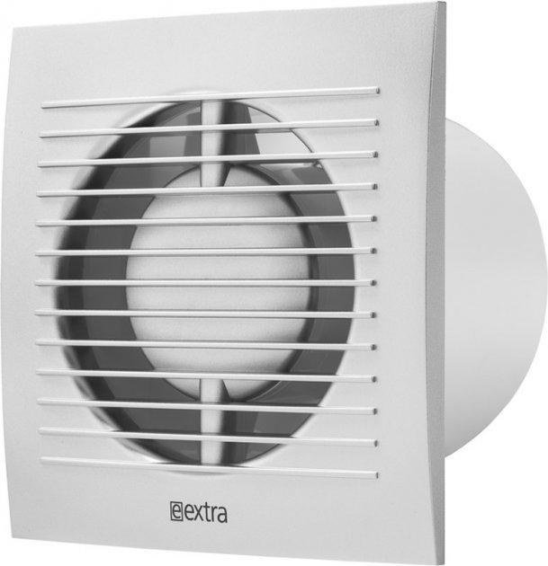 Вытяжной вентилятор Europlast E-EXTRA EE100ТS с таймером серебро - изображение 1
