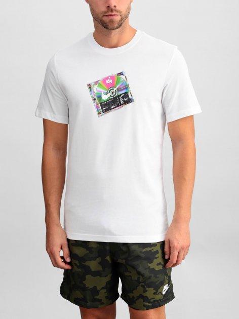 Футболка Nike M Nsw Ss Tee Music Cd CW0402-100 S (194494781320) - изображение 1
