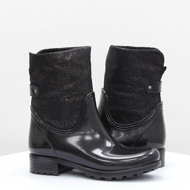 Резиновые сапоги Mida 38 черные 50506 - изображение 1