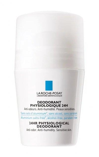 La Roche-Posay Physiologique кульковий фізіологічний дезодорант для чутливої шкіри (50 мл) - зображення 1