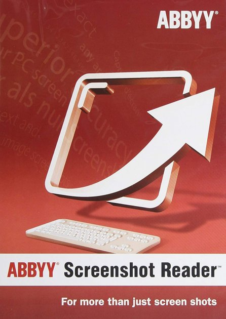 ABBYY Screenshot Reader (ESD — електронна ліцензія) - зображення 1