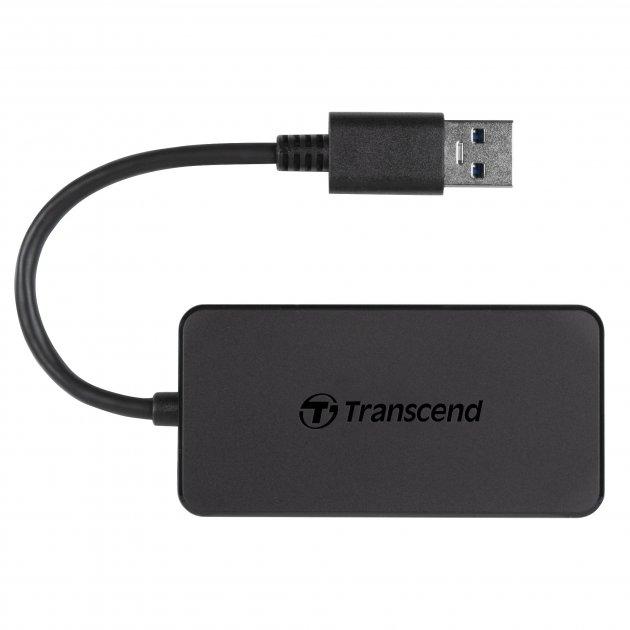 USB-хаб 4-Port Transcend USB 3.1 Gen 1 (TS-HUB2K) - изображение 1