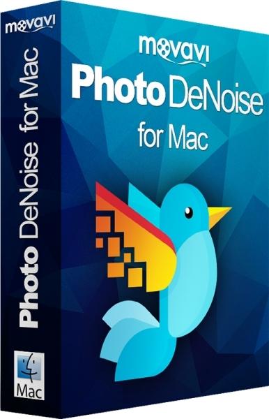 Movavi Photo DeNoise для Mac 1 Бізнес для 1 ПК (електронна ліцензія) (MovPDN Mac bus) - зображення 1