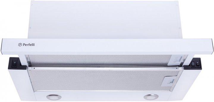 Витяжка PERFELLI TL 6812 C WH 1200 LED - зображення 1