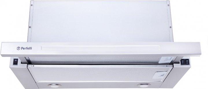Витяжка PERFELLI TL 6802 C S/I 1200 LED - зображення 1