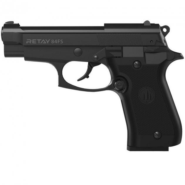 Пістолет стартовий Retay X1 черній - зображення 1
