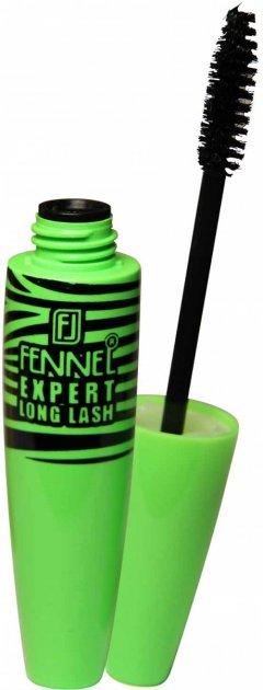 Туш Fennel Expert Long Lash Чорна подовження класичний пензель (8858229050366) - зображення 1
