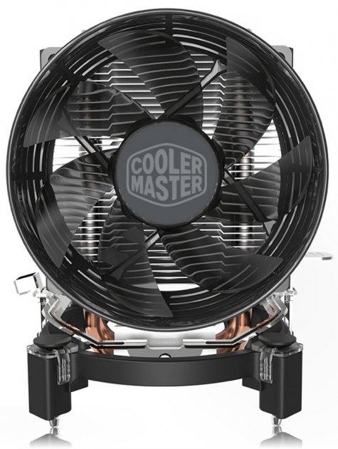 Процесорний кулер Cooler Master T20 LGA1200/115x/AM4/FM2(+)/AM3(+),3pin,1700об/хв,18.7 dBA,TDP 100W - зображення 1