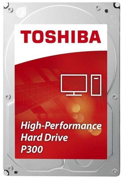"""Жорсткий диск Toshiba 3.5"""" SATA 3.0 3TB 7200 64MB P300 - зображення 1"""