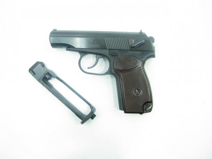 Пневматичний пістолет Байкал МР-654к н 32 серія + баллончик со2 в подарунок - зображення 1
