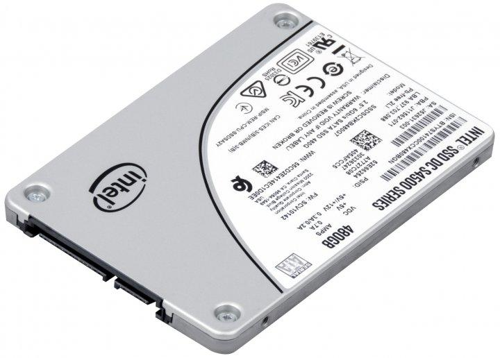 """SSD накопичувач 480 ГБ Intel (2.5"""", TLC, SATAIII, SSDSC2KB480G7/J11562-071) Б/У - зображення 1"""