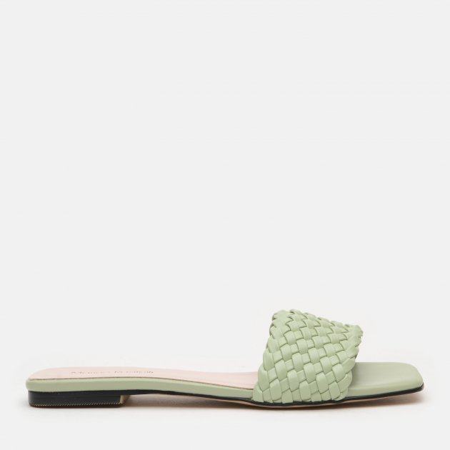 Шлепанцы Marino Rozitelli BL2047-K3025-4 36 23.5 см Зеленые