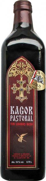 Вино Alianta Vin Кагор Пастораль червоне десертне 0.75 л 16% (G4840042002428) - зображення 1