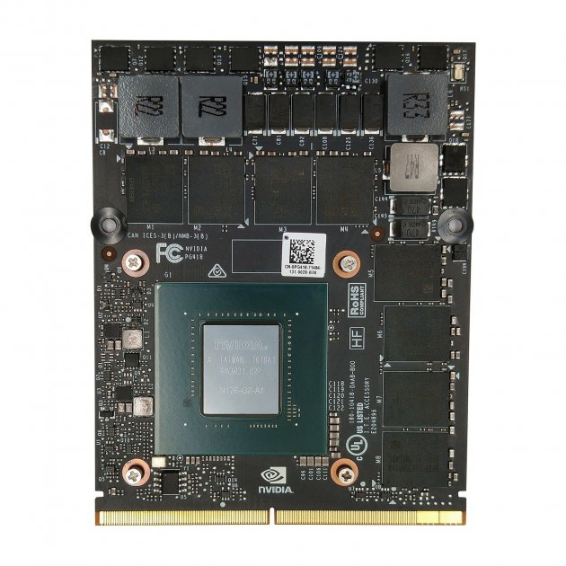 NVIDIA GeForce GTX 1070 MXM 8 ГБ GDDR5 - изображение 1