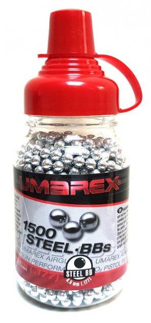 Нікельовані кульки Umarex Quality BBs 4,5 мм 1500 шт - зображення 1