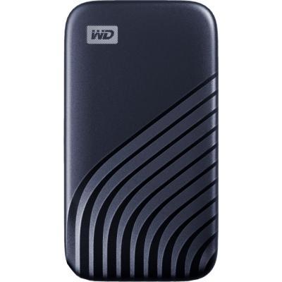 Накопичувач SSD USB 3.2 500GB WD (WDBAGF5000ABL-WESN) - зображення 1