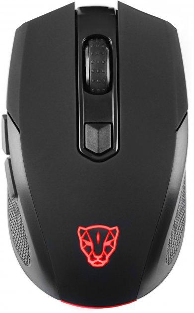 Миша Motospeed BG50 Bluetooth/USB Black (mtbg50) - зображення 1
