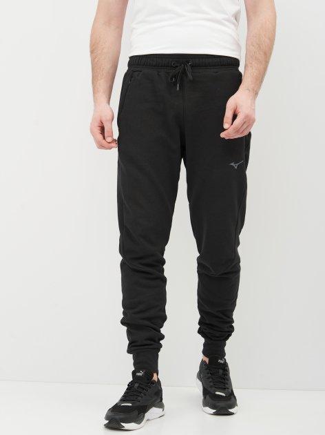 Спортивные штаны Mizuno Athletic Rib Pant K2GD050109 S Черные (5054698962404) - изображение 1