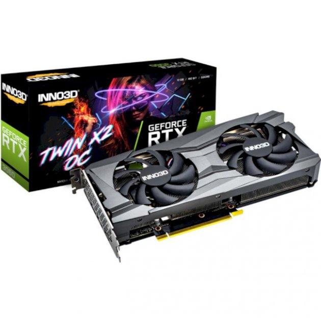 Inno3D GeForce RTX 3060 TWIN X2 OC (N30602-12D6X-11902120) - зображення 1