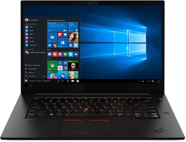 Ноутбук Lenovo ThinkPad X1 Extreme Gen 3 (20TK000MRA) Black - зображення 1