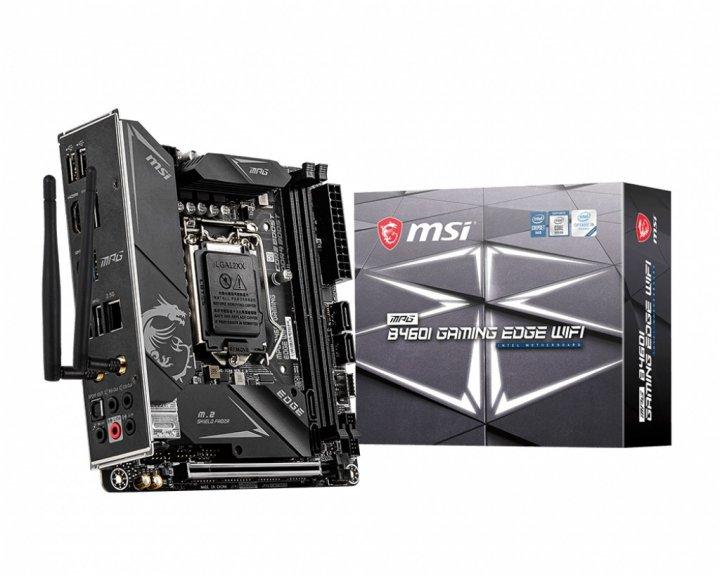 Материнская плата MSI MPG B460I Gaming Edge WIFI Socket 1200 - зображення 1
