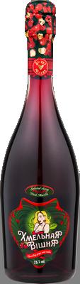 Вино игристое Хмельная Вішня сладкое 0.75 л 11.5% (4810738013458) - изображение 1