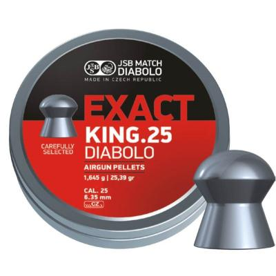 Кульки JSB Exact King 350 шт. (546298-350) - зображення 1