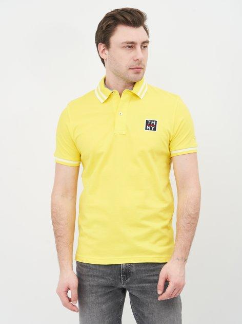 Поло Tommy Hilfiger 10674.4 M (46) Жовте - зображення 1