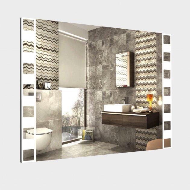 Зеркало с LED подсветкой L58 800x600 мм - изображение 1