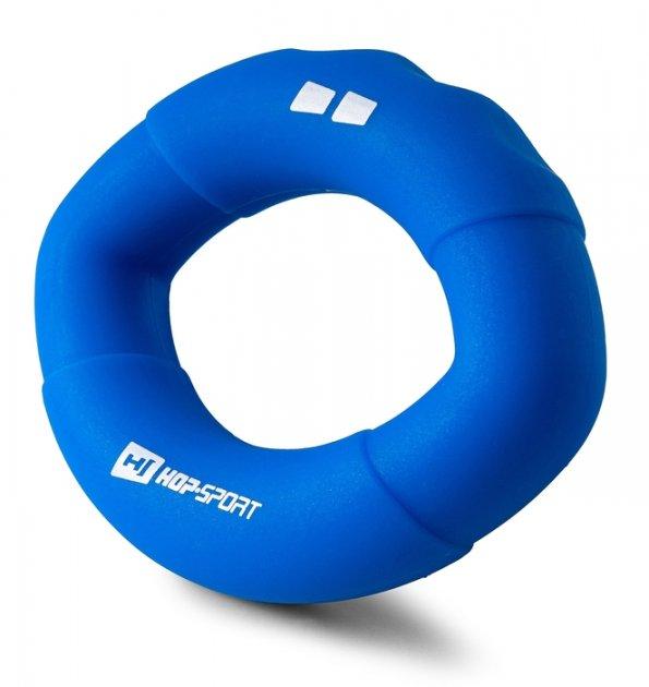 Еспандер силіконовий овальний 18,1кг Hop-Sport HS-S018OG синій - изображение 1