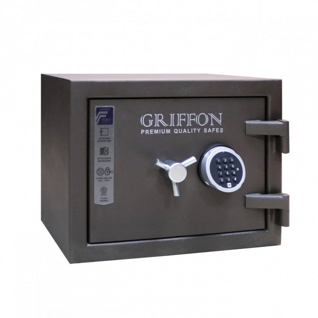 Сейф огневзломостойкий Griffon CLE III.37.E - зображення 1