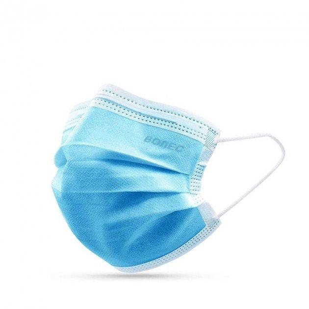 Медицинские маски ВОЛЕС трехслойные 50 шт. - изображение 1