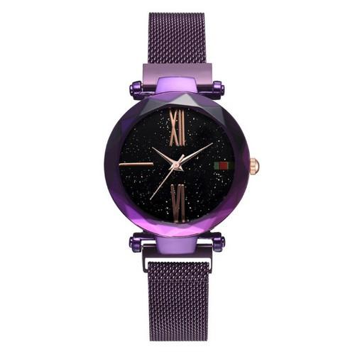 Часы наручные Geneva Starry Sky Purple-Black Shine - изображение 1
