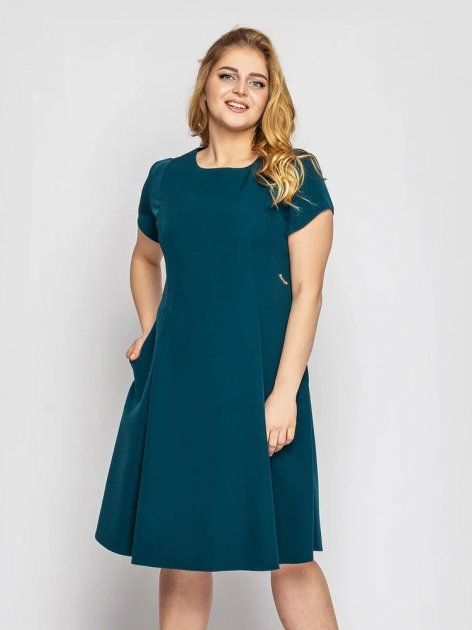 Платье VLAVI Милаша 131602 50 Зеленое - изображение 1
