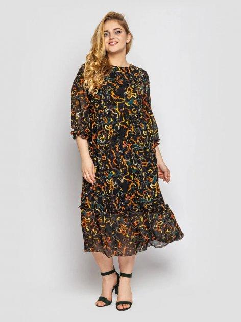 Платье VLAVI Андрэа 131702 60 Охра - изображение 1