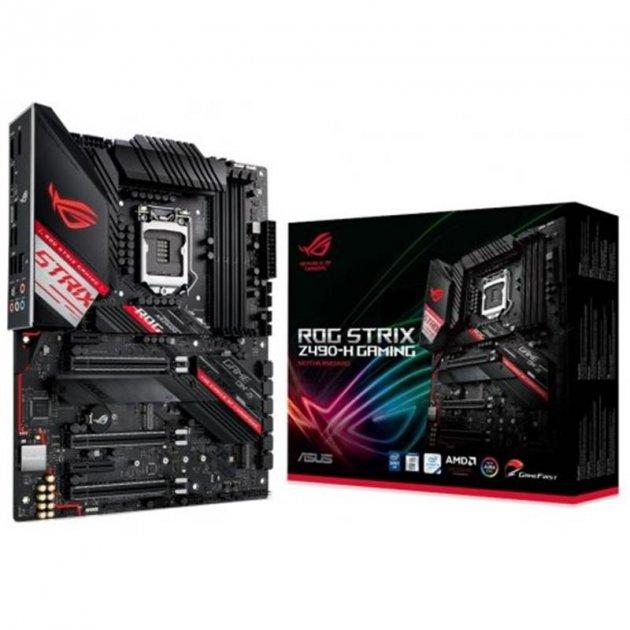 Материнська плата Asus ROG Strix Z490-H Gaming Socket 1200 - зображення 1