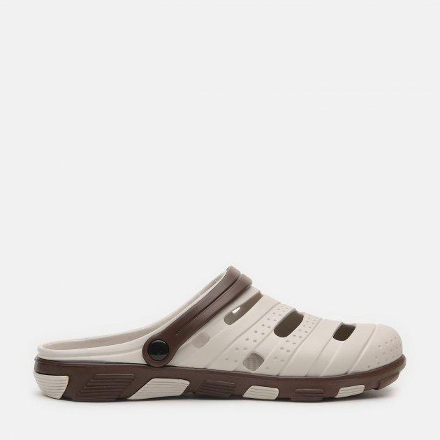"""Сабо FX shoes СЛМ-09/3 """"Форсаж"""" 44/45 Бежевые (2820000007612) - изображение 1"""