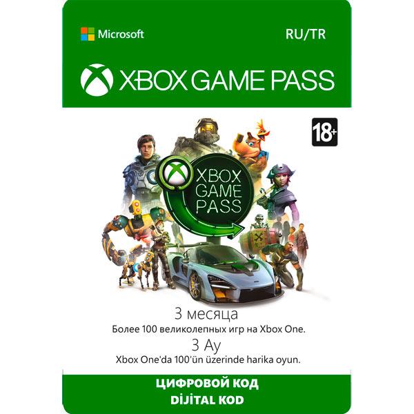 Подписка цифровой код Xbox Game Pass на 3 месяца | Все Страны - изображение 1