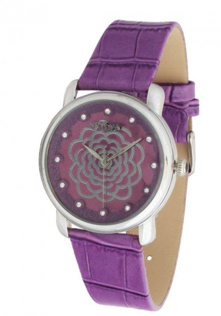 Женские часы NewDay St168L сиреневые - изображение 1