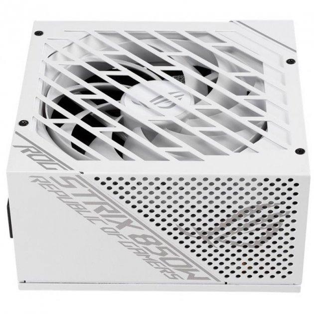 Блок живлення Asus ROG Strix 850W Gold White Edition (ROG-STRIX-850G-WHITE) - зображення 1